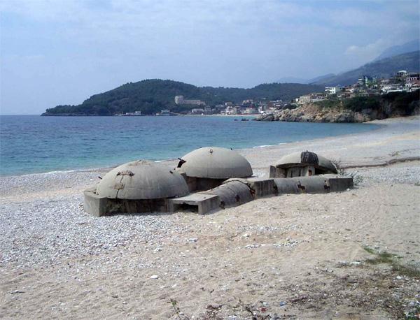 Albania's Concrete Mushrooms