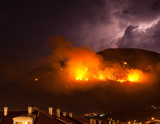 balkan forest fires