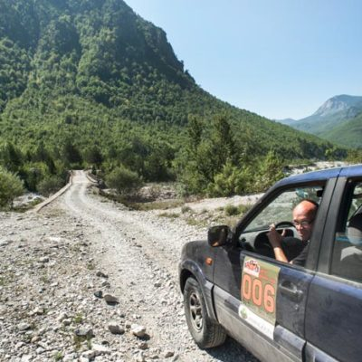 Great Balkan Ride Rally Albania Thethi